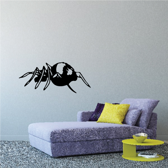 Crawling Weaving Spider Decal
