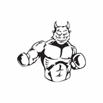 Boxing Wall Decal - Vinyl Decal - Car Decal - DC 011