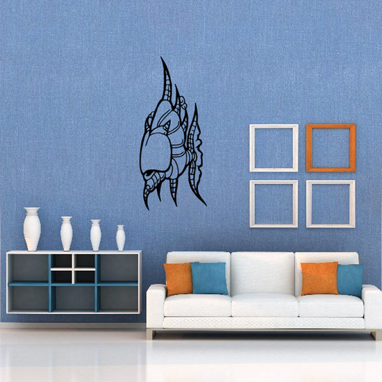 Fish Wall Decal - Vinyl Decal - Car Decal - DC316