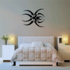 Abstract Pointed Spider Decal