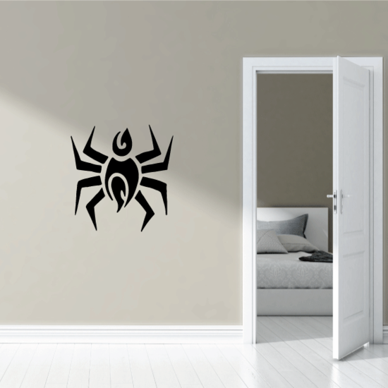 Abstract Spider Decal