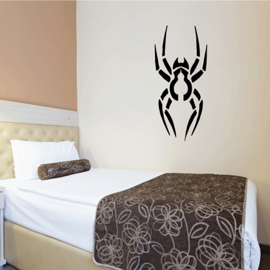 Abstract Sectioned Spider Decal