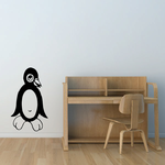 Friendly Penguin Decal