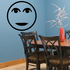 Bland Moon Face Decal