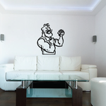 Boxing Wall Decal - Vinyl Decal - Car Decal - Bl002