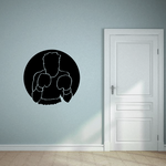 Boxing Wall Decal - Vinyl Decal - Car Decal - Bl004