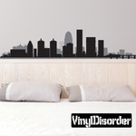 Louisville Kentucky Skyline Decal