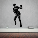 Boxing Wall Decal - Vinyl Decal - Car Decal - Bl011