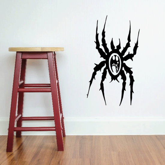 Wicked Spider Decal