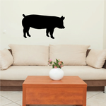 Charming Standing Pig Decal