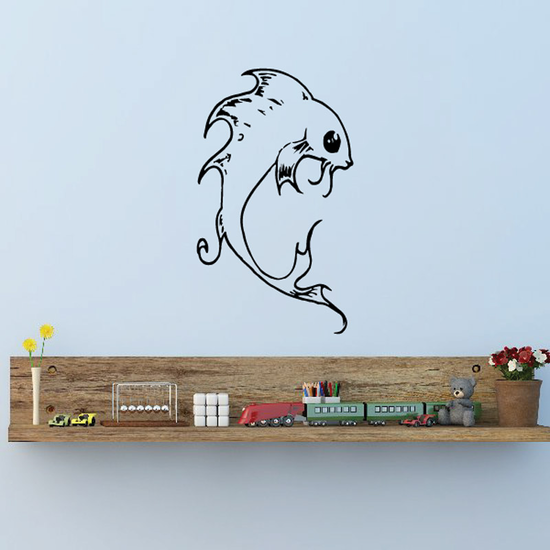 Fish Wall Decal - Vinyl Decal - Car Decal - DC340
