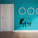 Happy Pig Decal