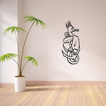 Seahorse and Anchor Decal