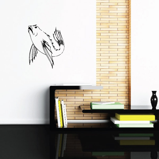 Fish Wall Decal - Vinyl Decal - Car Decal - DC358