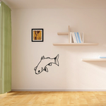 Curious Looking Freshwater Fish Decal