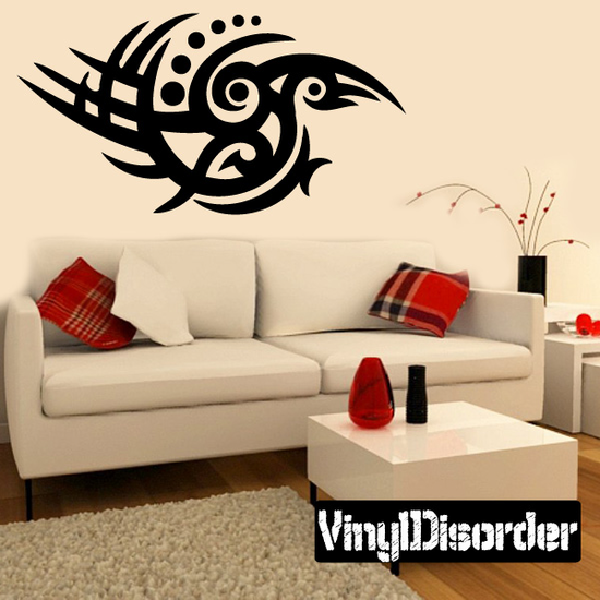 Classic Tribal Wall Decal - Vinyl Decal - Car Decal - DC 036