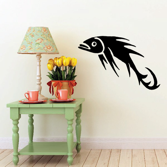 Fish Wall Decal - Vinyl Decal - Car Decal - DC365