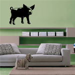 Adorable Staring Pig Decal