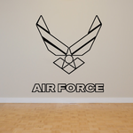 Air Force Eagle Outline Decal