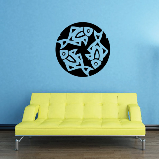 Fish Wall Decal - Vinyl Decal - Car Decal - DC395