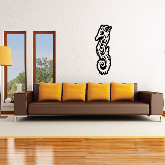 Ember Seahorse Decal