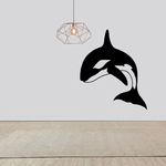 Flipping Orca Whale Decal