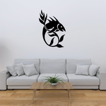 Fish Wall Decal - Vinyl Decal - Car Decal - DC419
