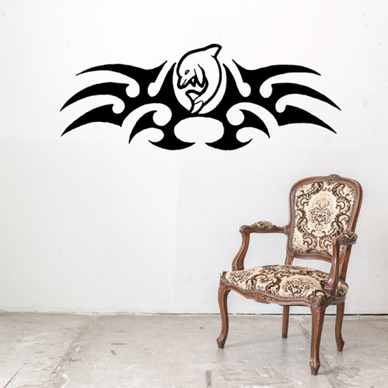 Tribal Fish Wall Decal - Vinyl Decal - Car Decal - DC437