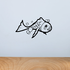 Amy the Comet Goldfish Decal