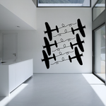 Fighter Plane Path Decal Kit