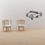 Lurking Small Mouth Bass Decal