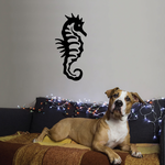 Ribbed Seahorse Decal