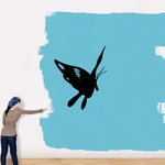 Crane Butterfly Decal