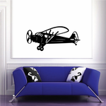 Flying Propellor Plane Decal