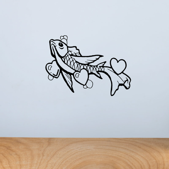 Fish Wall Decal - Vinyl Decal - Car Decal - DC469