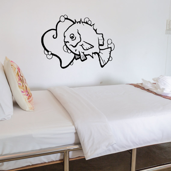 Fish Wall Decal - Vinyl Decal - Car Decal - DC470