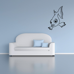 Hovering Goldfish Decal