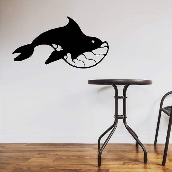 Alaskin Tribal Whale Decal