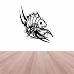 Tribal Fish Wall Decal - Vinyl Decal - Car Decal - DC483