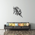 Tribal Fish Wall Decal - Vinyl Decal - Car Decal - DC484