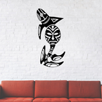 Tribal Fish Wall Decal - Vinyl Decal - Car Decal - DC485