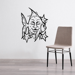 Fish Wall Decal - Vinyl Decal - Car Decal - DC487