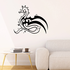 Tribal Wing Seahorse Decal