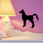 Staring Pony Silhouette Decal
