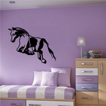 Leaping Pony Decal