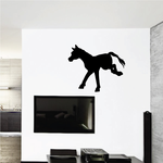 Running Pony Silhouette Decal