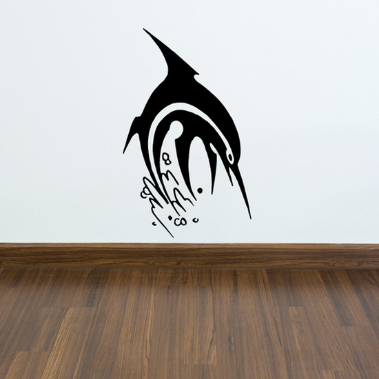 Fish Wall Decal - Vinyl Decal - Car Decal - DC518