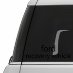 Ford Recovery Vehicle Decal