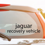 Jaguar Recovery Vehicle Decal