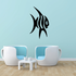 Fish Wall Decal - Vinyl Decal - Car Decal - DC522